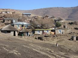 Rural Village in Mohale'hoek